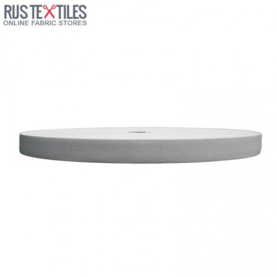 Woven Elastic Tape 18mm White