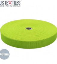 40mm Polypropylene Webbing