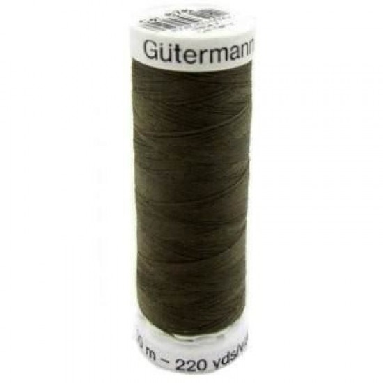 Gütermann 861 Dark Olive Green 200M