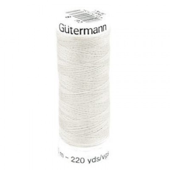 Gütermann 008 Light Grey / Off White 200M (043)