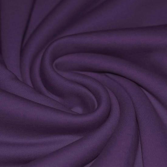 Interlockjersey 100% Cotton Purple