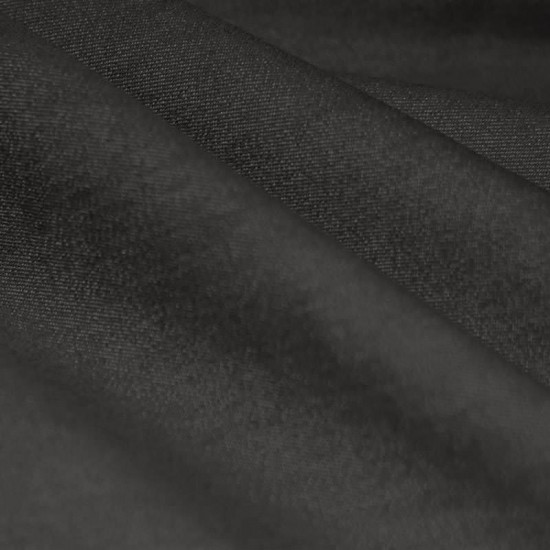 Denim Stretch Fabric Dark Grey