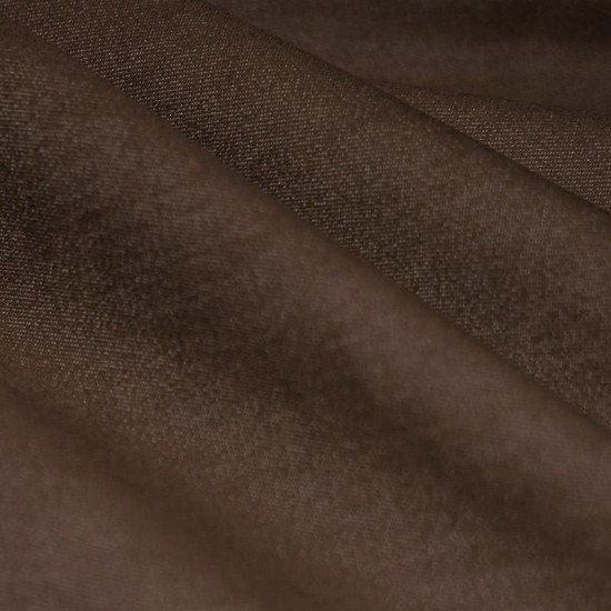 Denim Stretch Fabric Brown