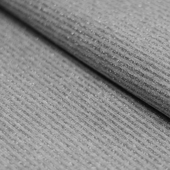 Jersey Lurex Stripes 3mm Grey