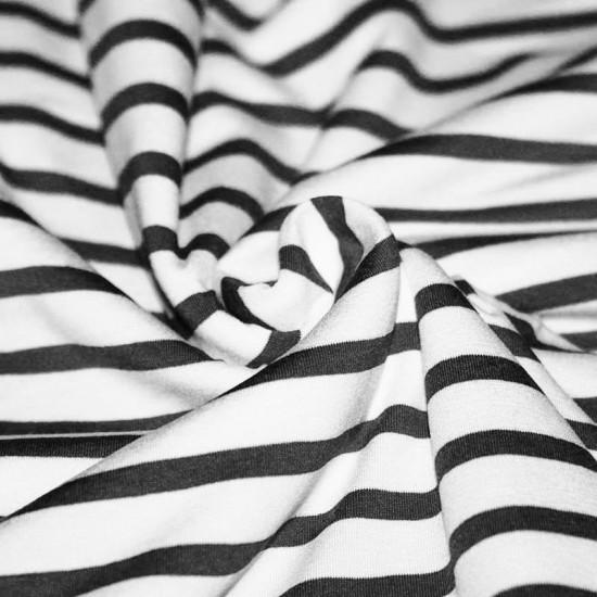 Jersey (Stripes) White Black