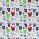 Mi & Joe Fabrics Jersey Katoen - Monsters Grijs