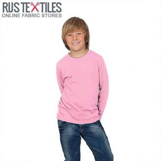 Katoenen Jersey Roze