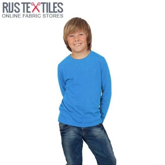 Cotton Jersey Knit Fabric Aqua