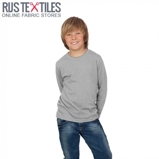 Cotton Jersey Knit Fabric Grey