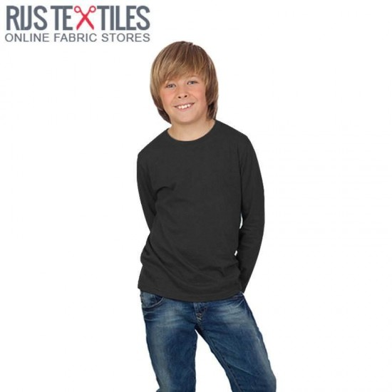 Cotton Jersey Knit Fabric Black