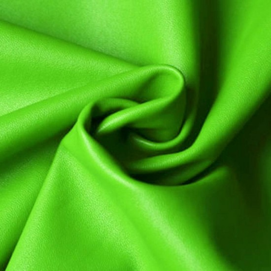 Leather Bright Green