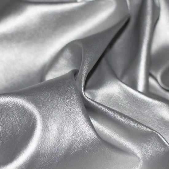 Leather Silver
