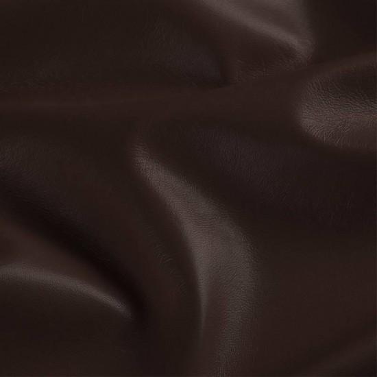 Simili Cuir Brun Tissu