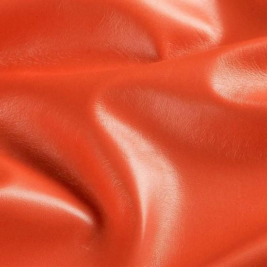 Leather Fabric Orange