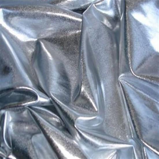 Folienjersey Silber