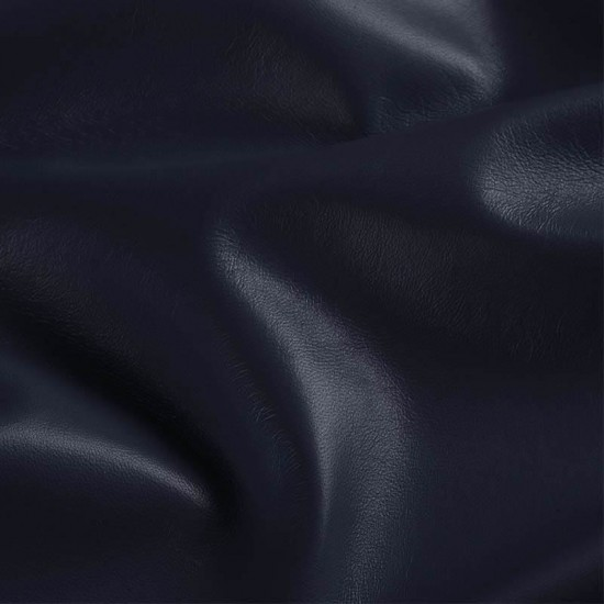 Leather Fabric Navy