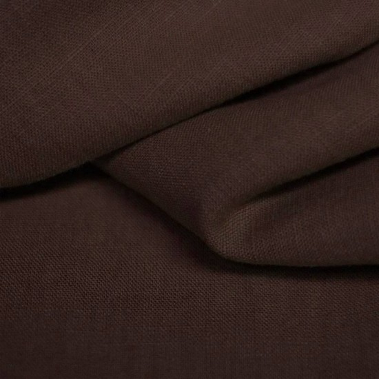 Linen Fabric Brown