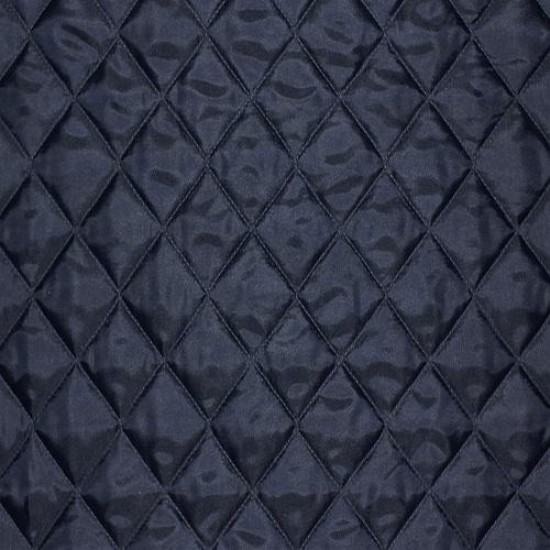 Lining Navy Quilted 5cm