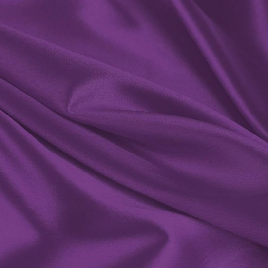 Lycra Fabric (Shiny) Purple