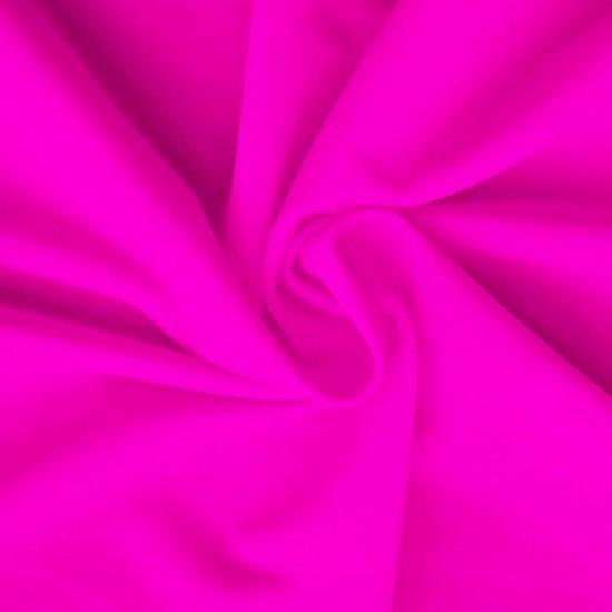 Lycra Stof (Mat) Fluor Roze