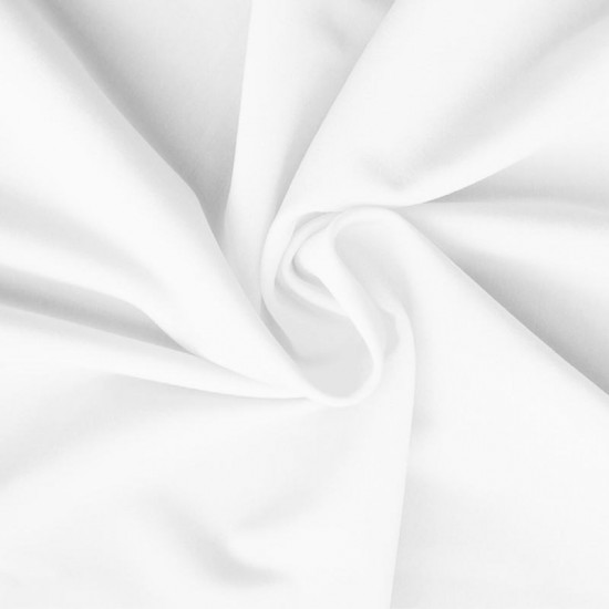 Lycra Fabric (Mat) White