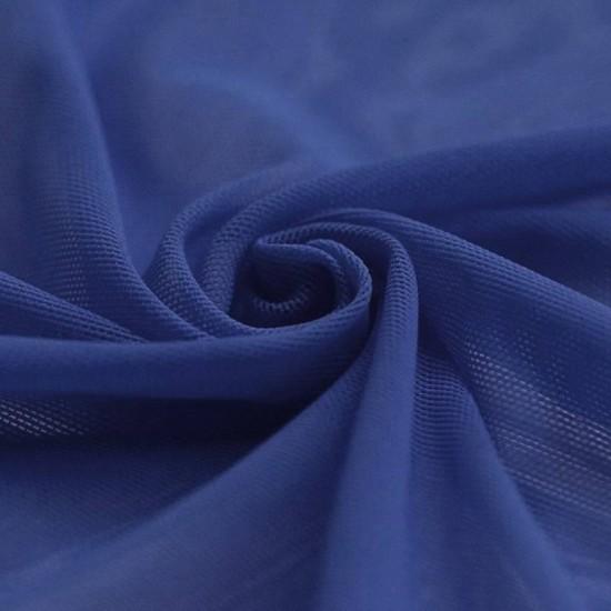 Mesh Fabric Stretch Cobalt