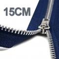 15CM Chiusure Lampo YKK In Metallo
