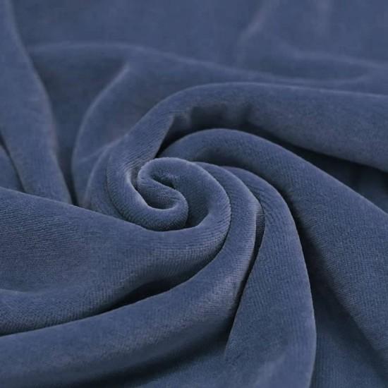 Nicky Velour Fabric Dark Jeans