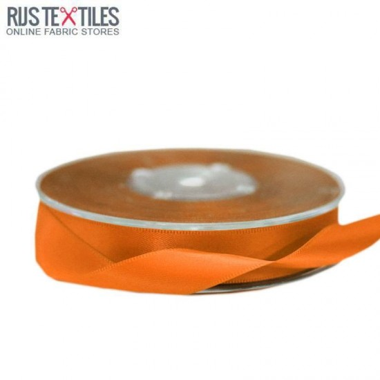Satin Ribbon 16mm Orange