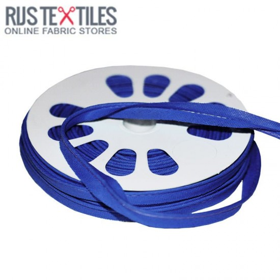 Cotton Piping Tape Cobalt 10mm