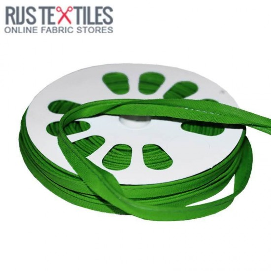Cotton Piping Tape Grass Green 10mm