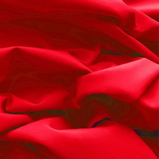 Poplin Cotton Fabric Red