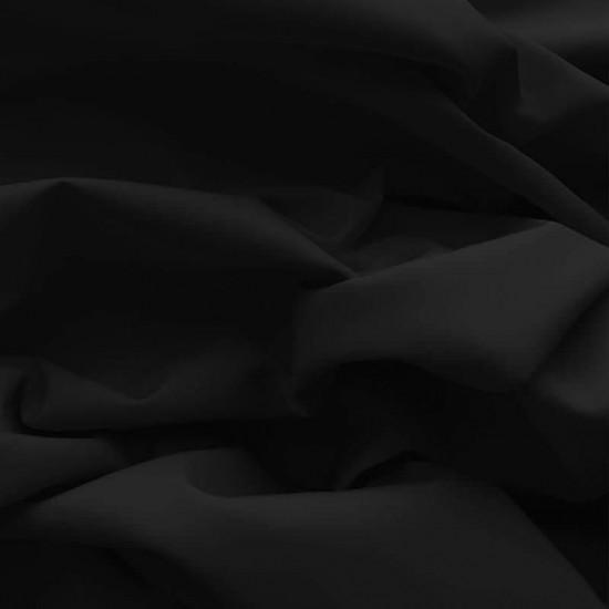 Poplin Cotton Fabric Black