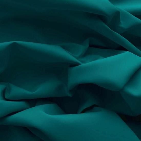 Poplin Cotton Fabric Petrol