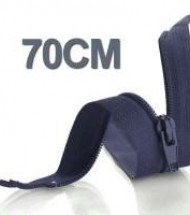 70CM Zippers YKK Nylon Divisible