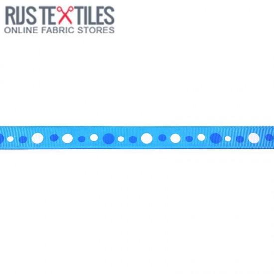 Grosgrain Ribbon - Retro Aqua 15mm