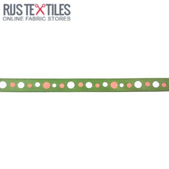 Grosgrain Ribbon - Retro Lime 15mm