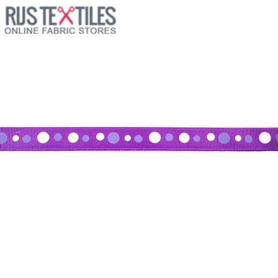 Grosgrain Ribbon - Retro Purple 15mm