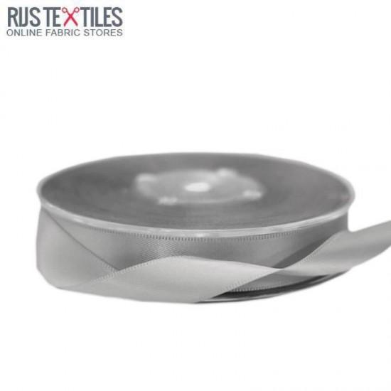 Satin Ribbon 16mm Grey