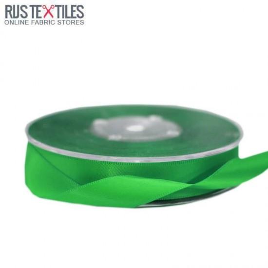 Satinbänder 16mm Grasgrün