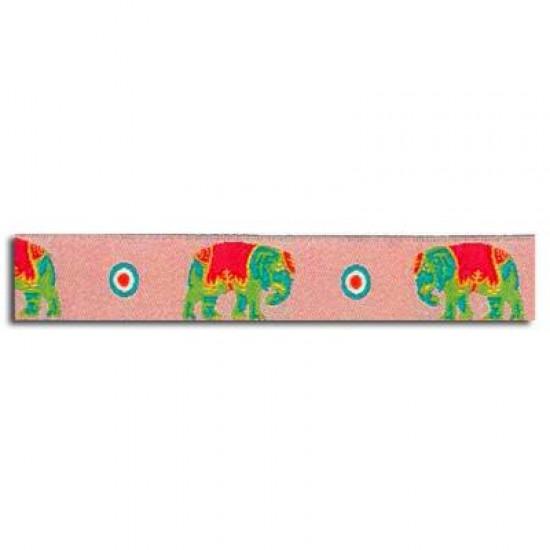 Childrens Ribbon - Elephant Pink 15mm