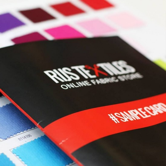 Nicky Velour Fabric Sample Card