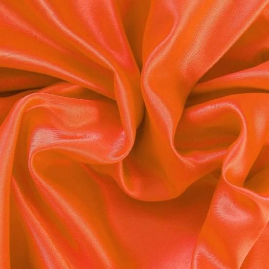 Satin Fabric Orange