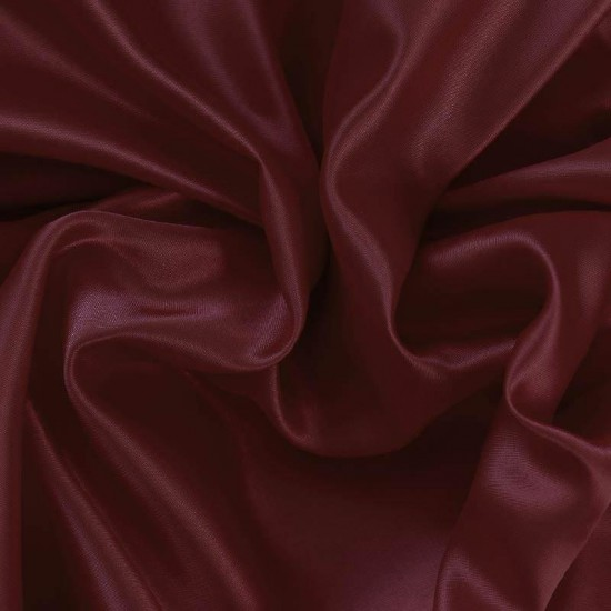 Satin Fabric Bordeaux