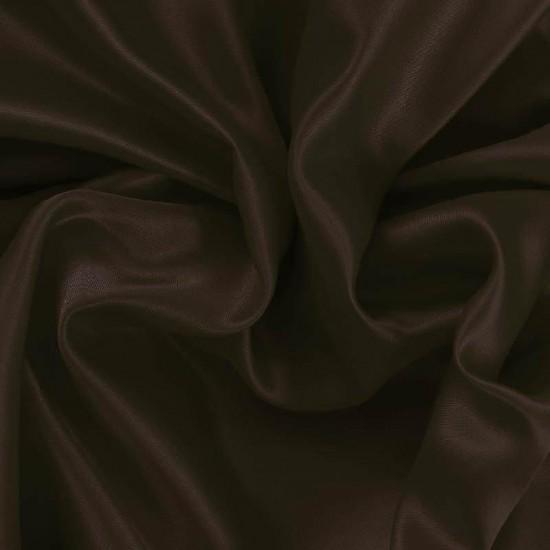 Satin Fabric Brown
