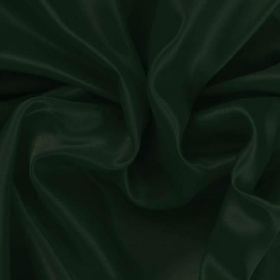 Satin Fabric Dark Green