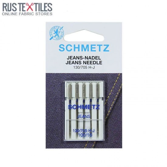 Schmetz Jeans Needle 100/16 (130/705 H-J)