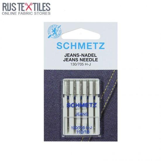 Schmetz Jeans Needle 110/18 (130/705 H-J)