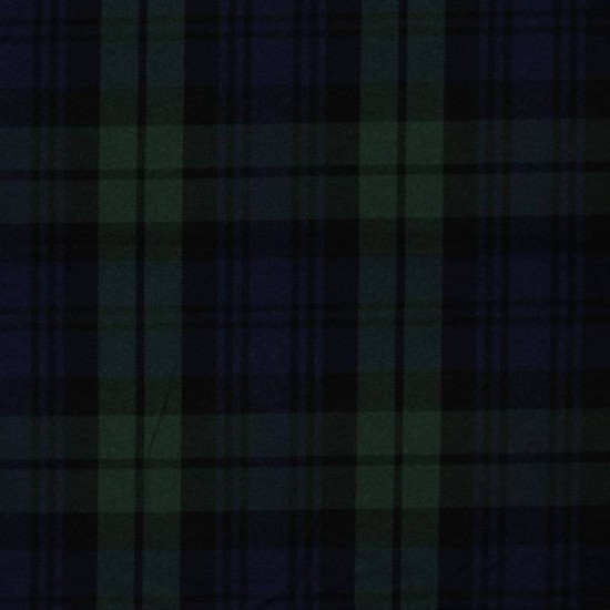 Scottish Tartan Fabric Black Watch
