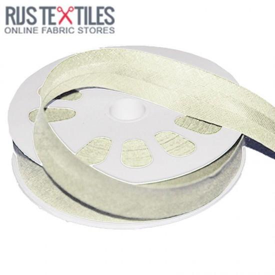 Cotton Bias Binding Ecru 20mm